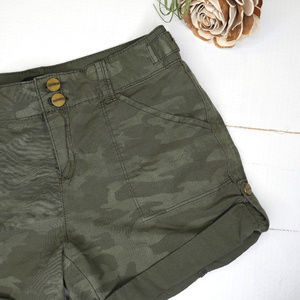 Sanctuary | camo camouflage cuffed or long shorts